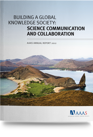 Annual Report 2012 - Building a Global Knowledge Society: Science Communication and Collaboration